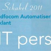 Adfocom is genomineerd voor Sterkste Schakel 2011