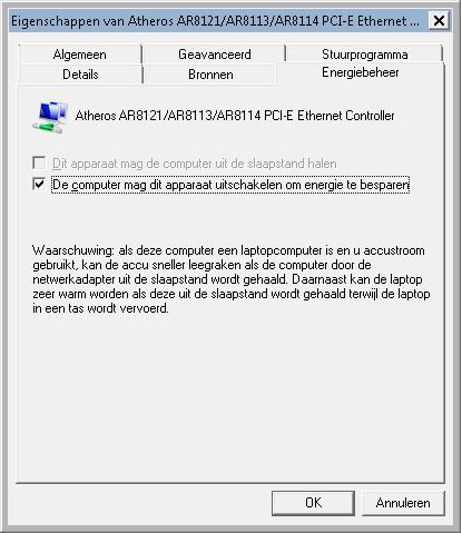 computer aanpassen voor wifi
