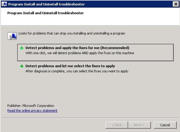 MicrosoftInstallatandUninstallTroubleshooter