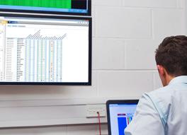 Remote Monitoring uitgevoerd op het scherm