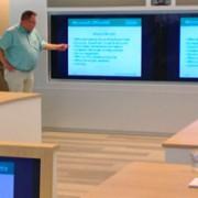 Adfocom collega geeft een cursus